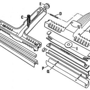 Futura Portable Spare PTFE fasteners item Q